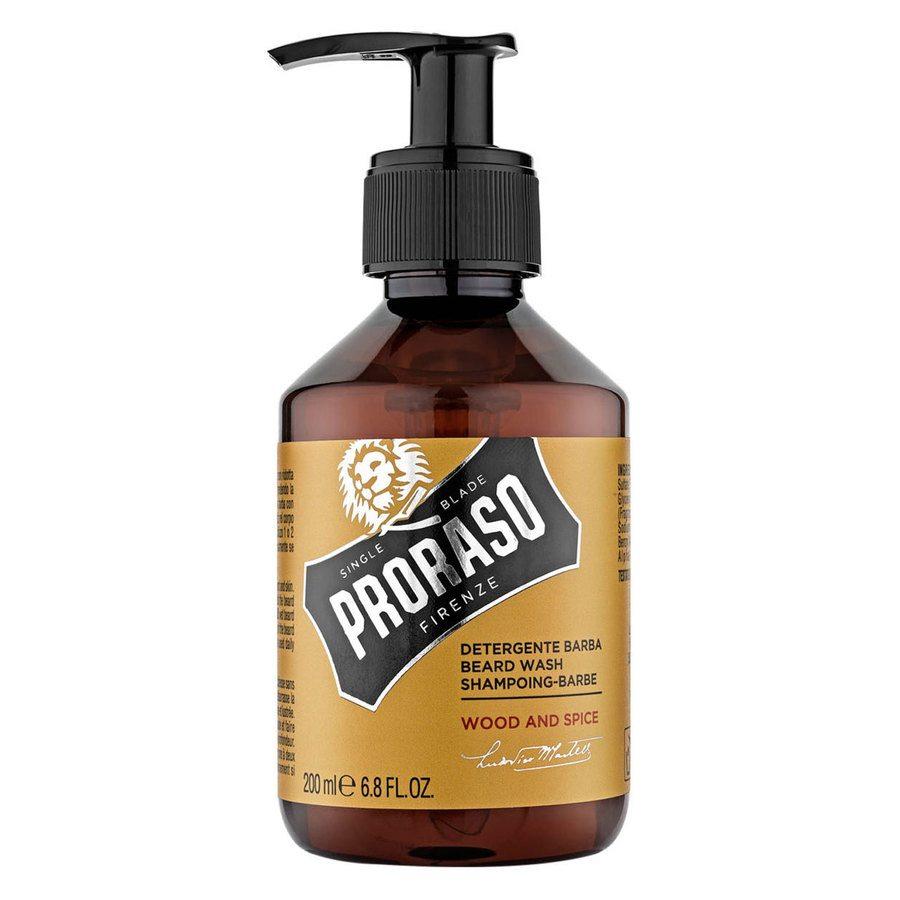 Proraso Beard Wash Wood And Spice (200ml)