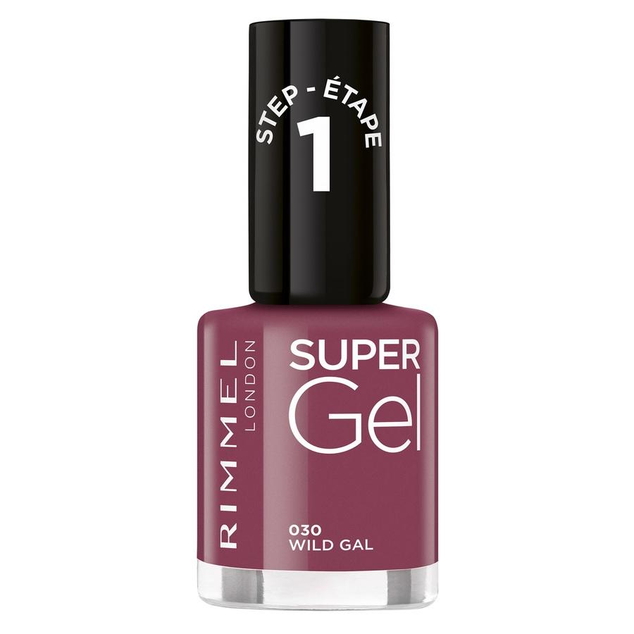 Rimmel London Super Gel Nail Polish (12ml), 030 Wild Gal