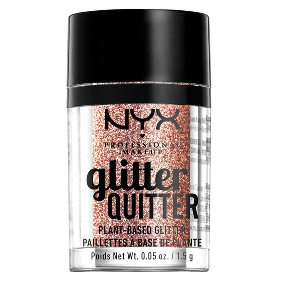 NYX Professional Makeup Glitter Quitter Plant Based Glitter Bronze (1,5 g)