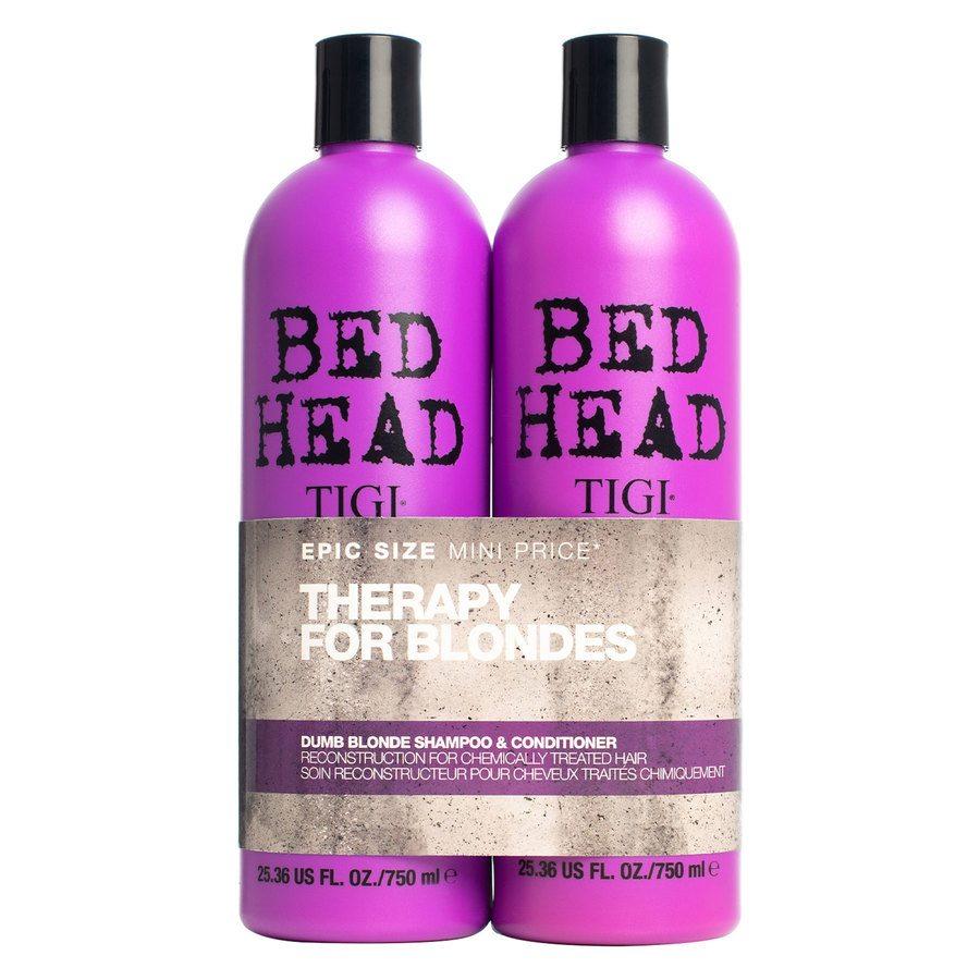 Szampon i odżywka TIGI Bedhead Dumb Blonde Duo (2x750 ml)
