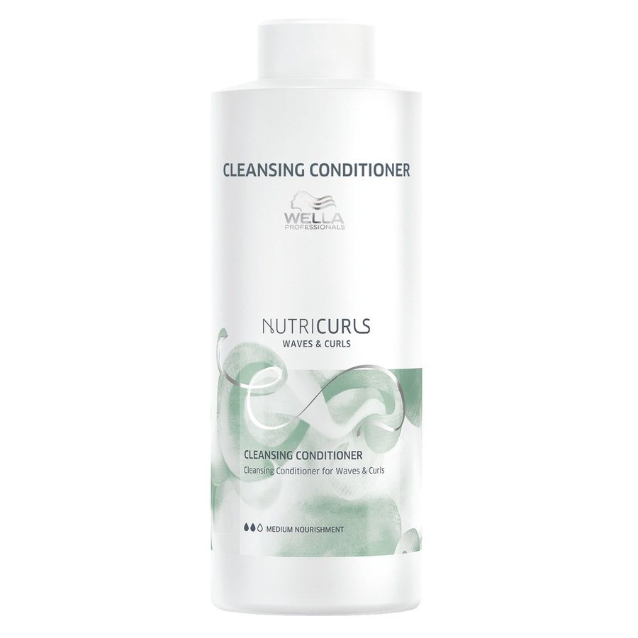 Wella Professionals Nutricurls Cleansing Balsam For Waves & Curls (1000 ml)