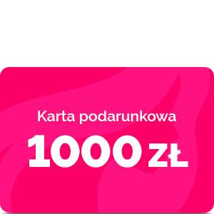 Bon podarunkowy – 1000 zł