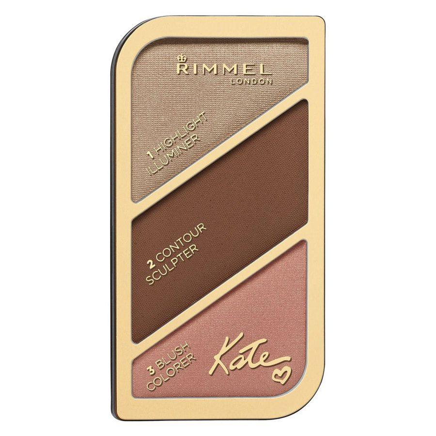 Rimmel London Kate Sculpting & Highlighting Palette (18,5 g), # 003 Golden Bronze