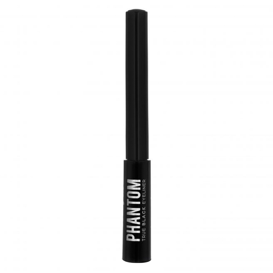Beauty UK Phantom Black Liquid Eyeliner, czarny