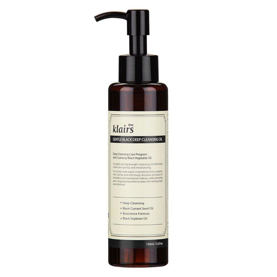 Klairs Gentle Black Deep Cleansing Oil (150 ml)