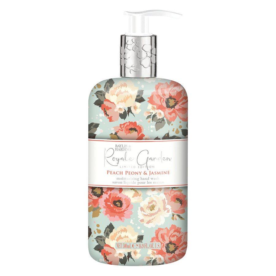 Baylis & Harding Royal Garden Peach Peony & Jasmine Hand Wash 500 ml