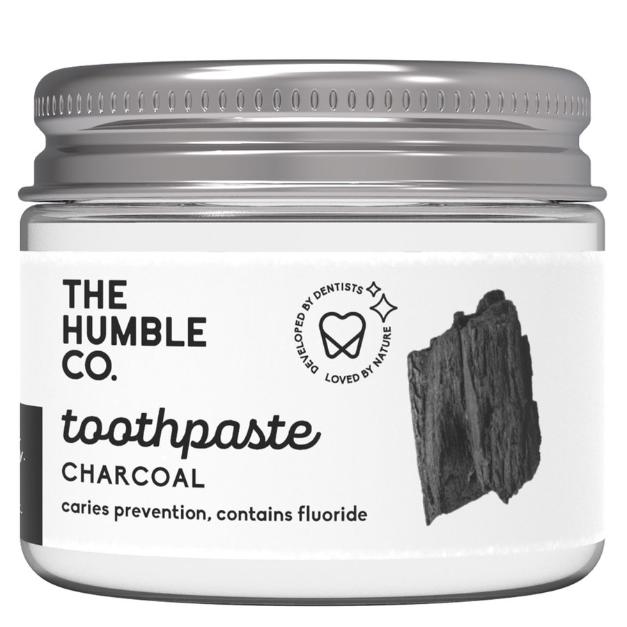 The Humble Co. Humble Natural Toothpaste In Jar Charcoal 50 ml