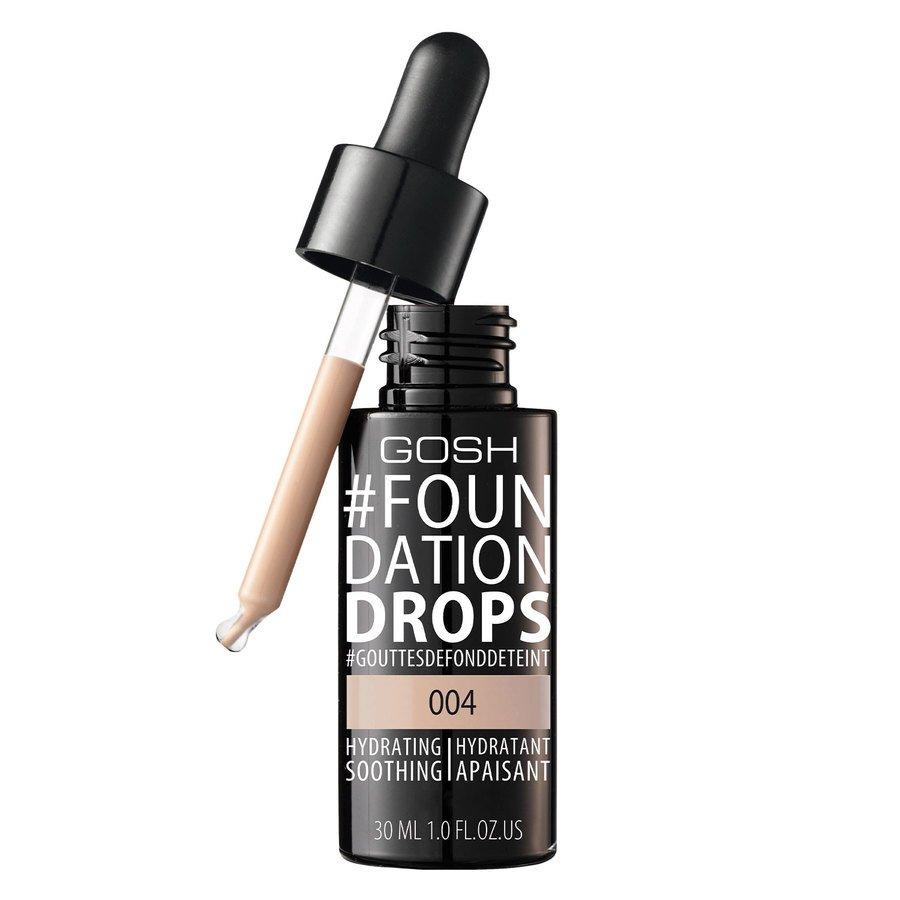GOSH Foundation Drops (30 ml), #004 Natural