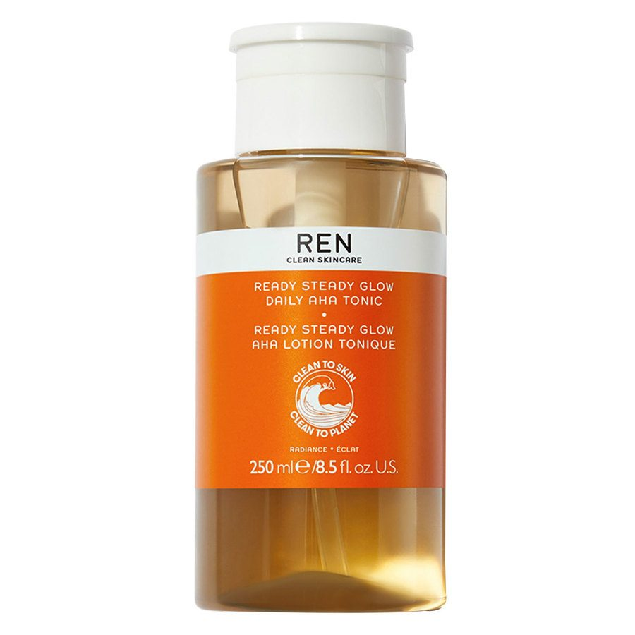 REN Clean Skincare Ready Steady Glow Daily AHA Tonic (250 ml)