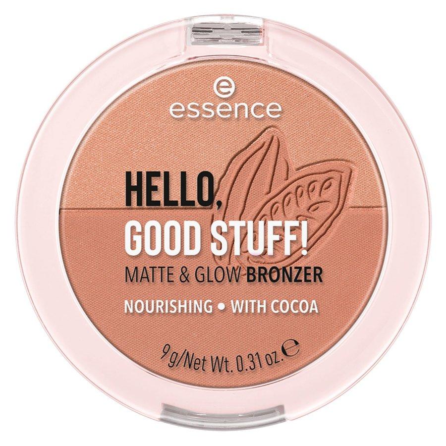 essence Hello Good Stuff Matte & Glow Bronzer 9 g ─ 20