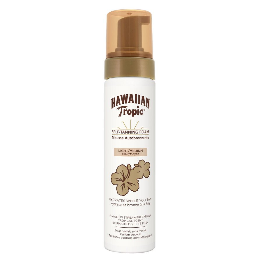 Hawaiian Tropic Self-Tanning Foam Light/Medium 200ml