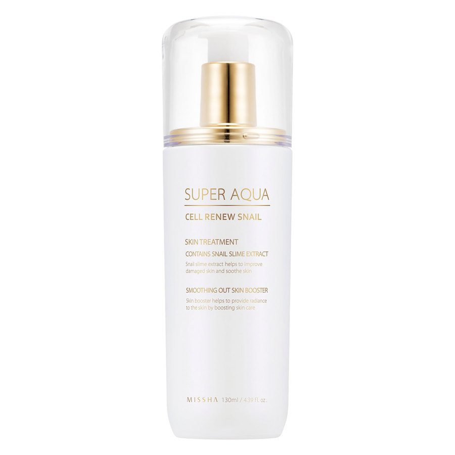 Missha Super Aqua Cell Renew Snail Skin Treatment (130 ml)
