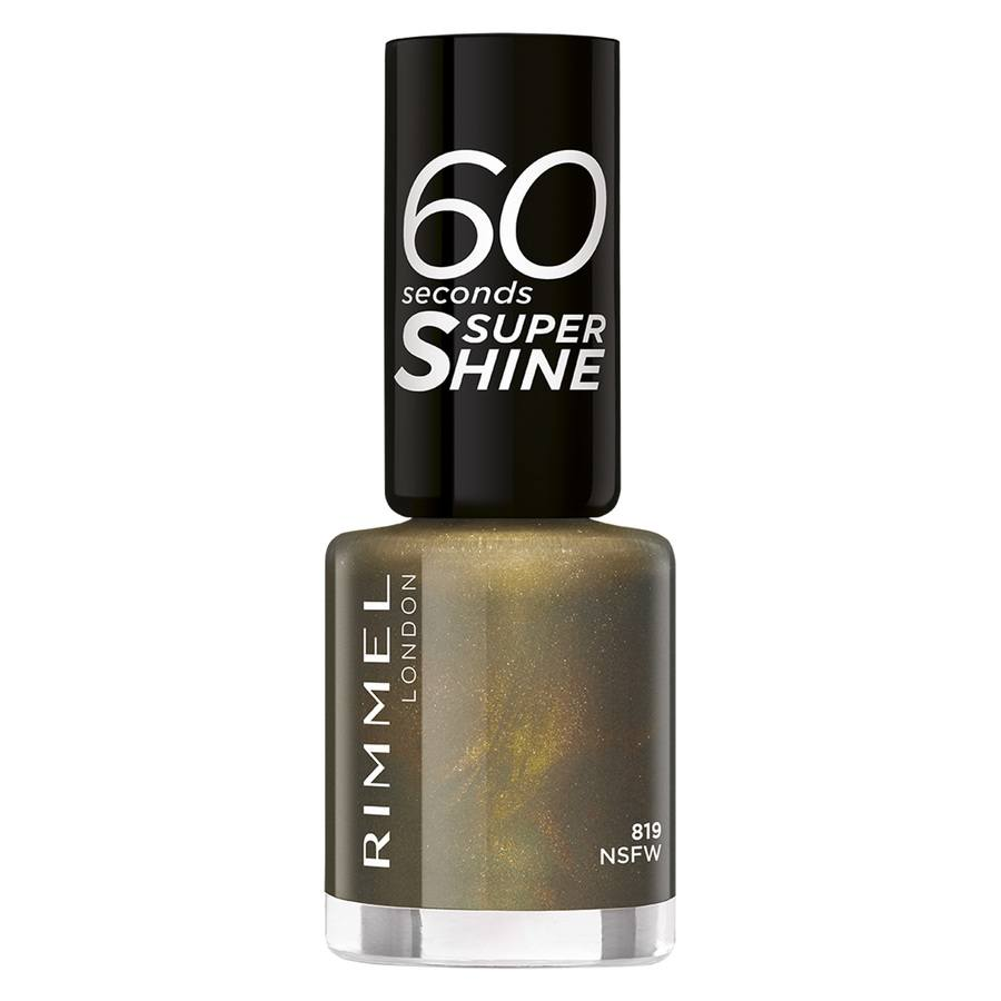 Rimmel London 60 Seconds Super Shine (8ml), 819