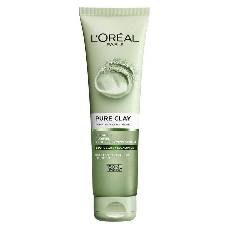 L'Oréal Paris Pure Clay Purifying Cleansing Gel (150 ml)