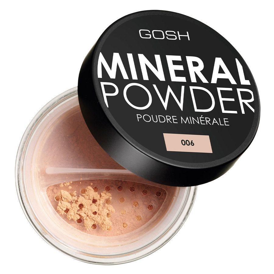GOSH Mineral Powder (8g), #006 Honey