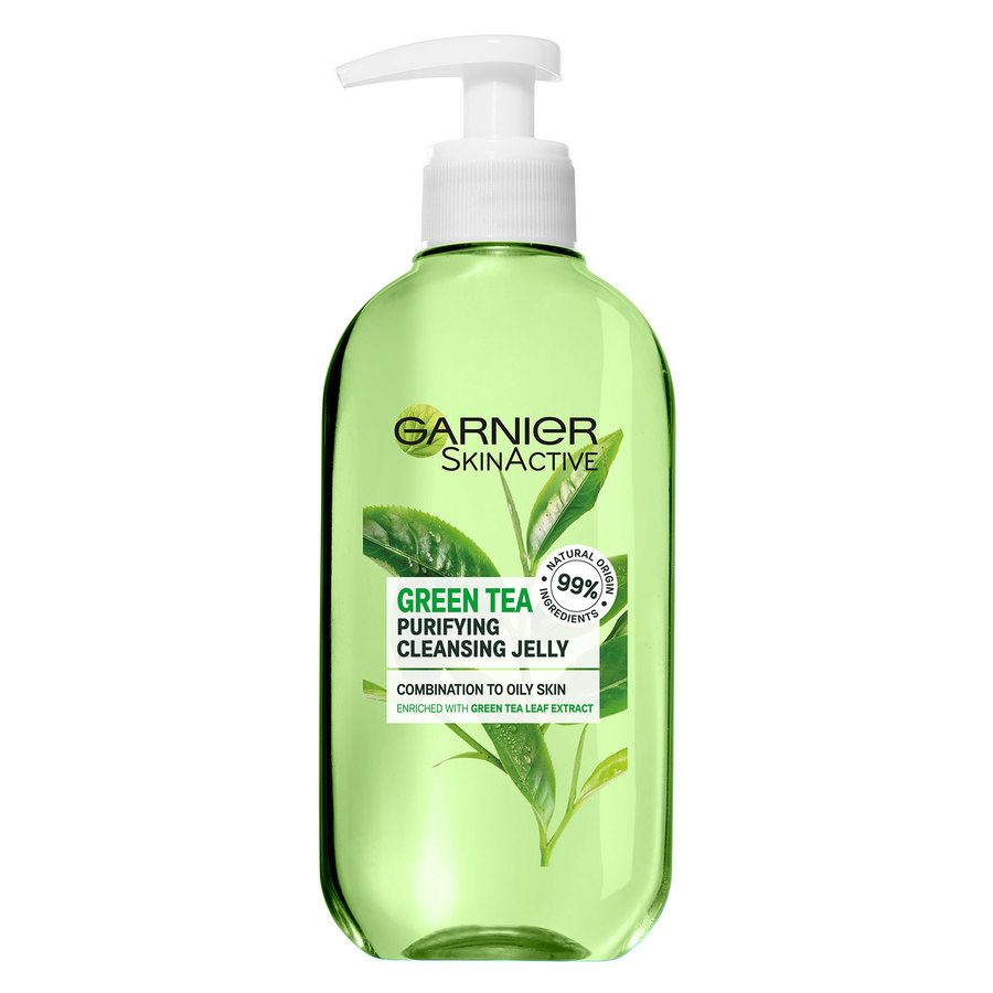 Garnier Naturals Botanical Green Tea Cleansing Gel Wash (200 ml)