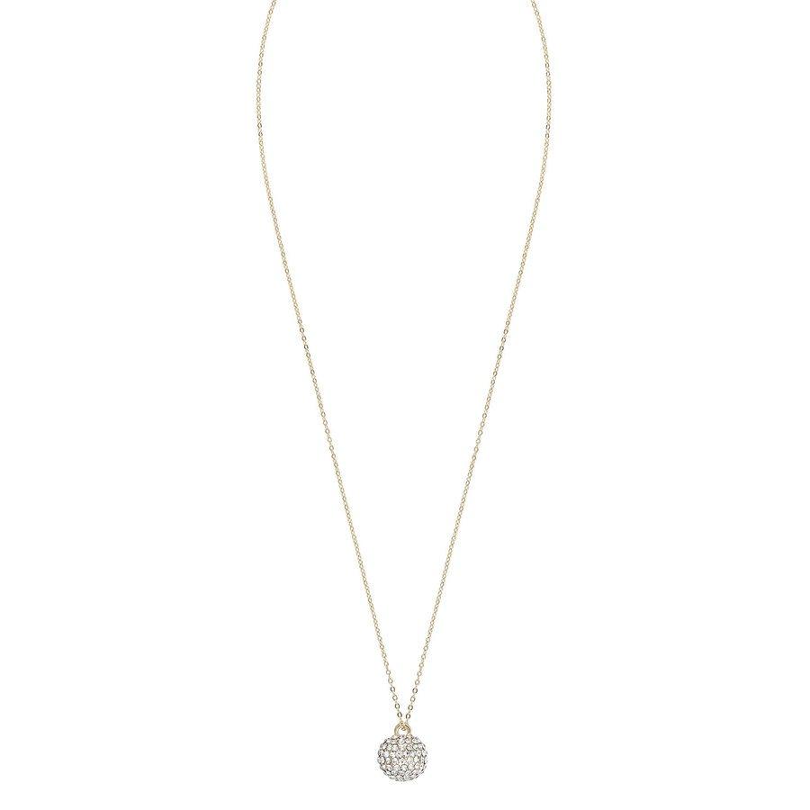 Snö Of Sweden Zin Pendant Neck (60 cm) ─ Gold / Clear