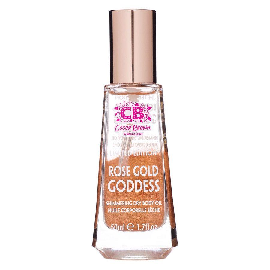 Cocoa Brown Rose Gold Goddess Oil (50ml)