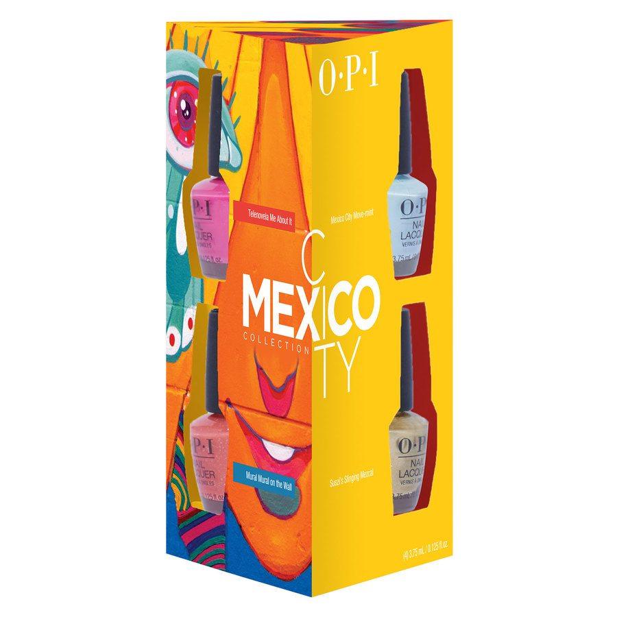 OPI Mexico City Nail Lacquer Mini 4szt. (4 x 3,75 ml)