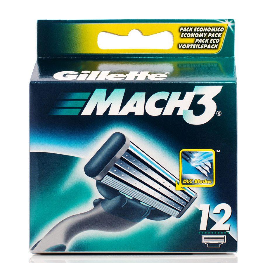 Gillette Mach3 12 ostrzy