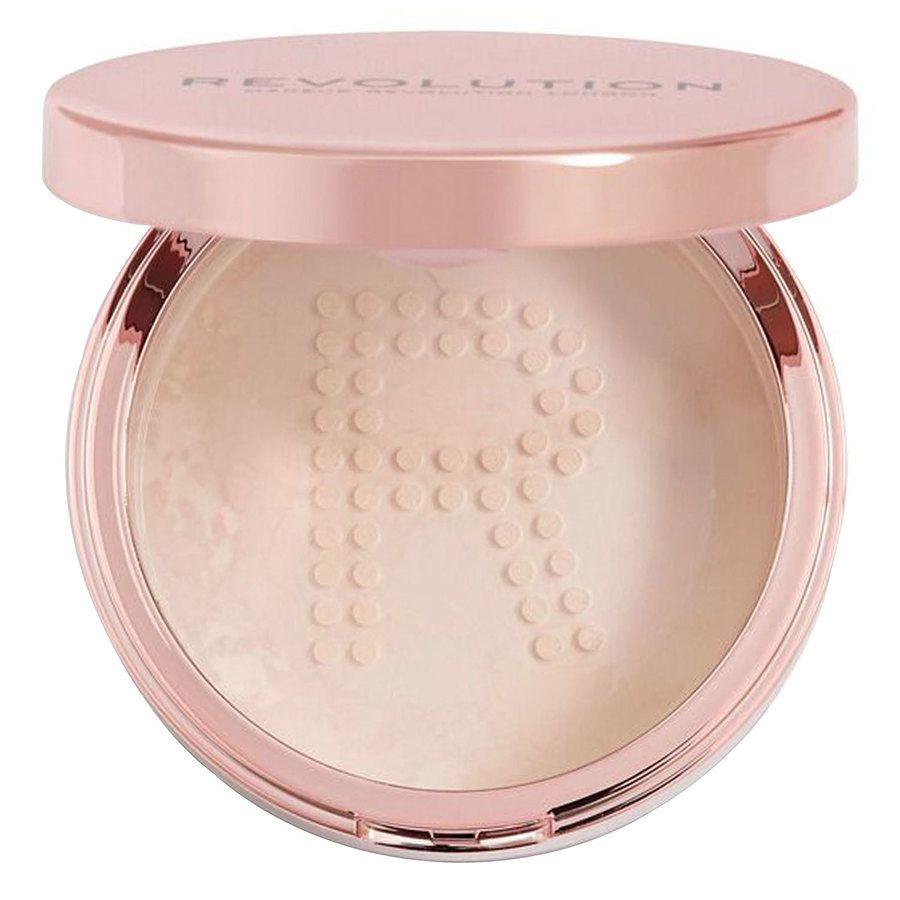 Makeup Revolution Conceal & Fix Setting Powder (13g), Light Pink